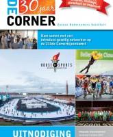 Sport stimuleerde het netwerken bij De Corner
