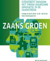 20 april 2018: Zaans Groen, duurzame innovatie in de Zaanstreek