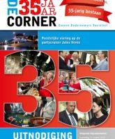 Vrijdag 13 september Jubileumvaartocht 35 jaar De Corner; een feestje dat wij graag met u vieren!